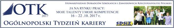 """Ogólnopolski tydzień kariery """"Ja narynku pracy: Mojetalenty ikompetencje"""""""
